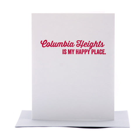 Columbia Heights Card
