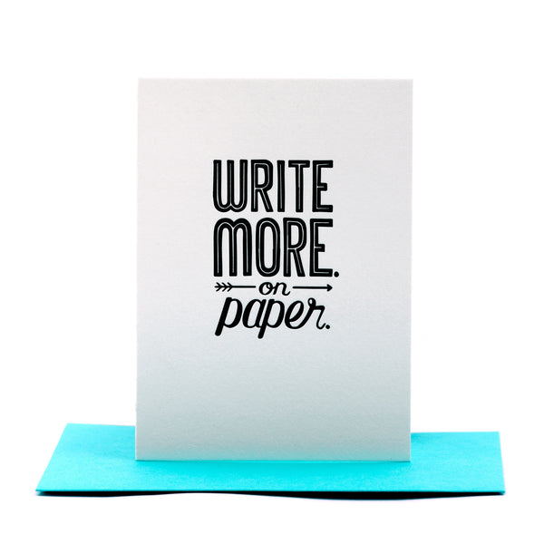 Write More Card