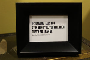 Student Quote Frames