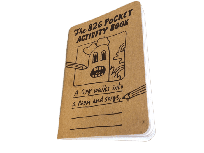 826 Pocket Activity Book