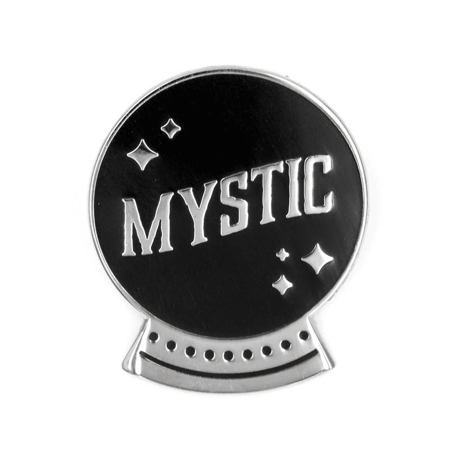 Mystic Crystal Ball Enamel Pin