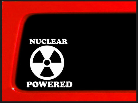 Abicht Collection - Nuclear Powered - Sticker / Decal for car / truck / laptop