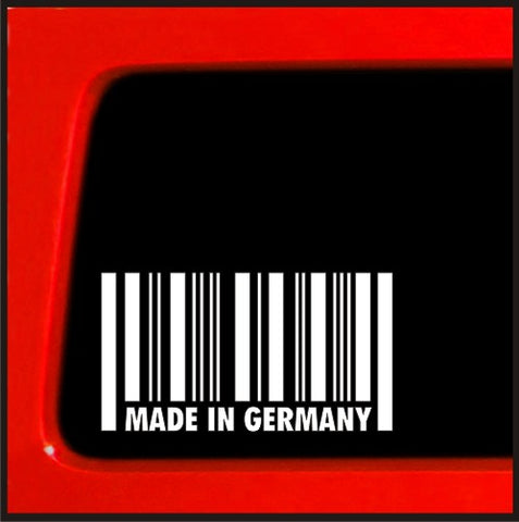 Made in Germany - Sticker / Decal for car truck import Euro