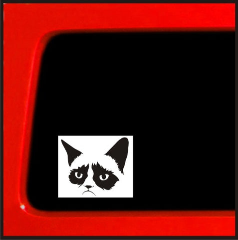 Grumpy Cat sticker funny decal bumper sticker car window funny decal meme