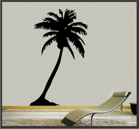 Palm Tree - Wall Art Vinyl Sticker Decal Wall Decor Tropical