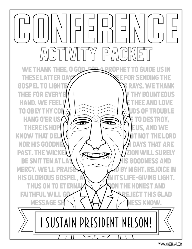 October 2019 General Conference Activity Packet