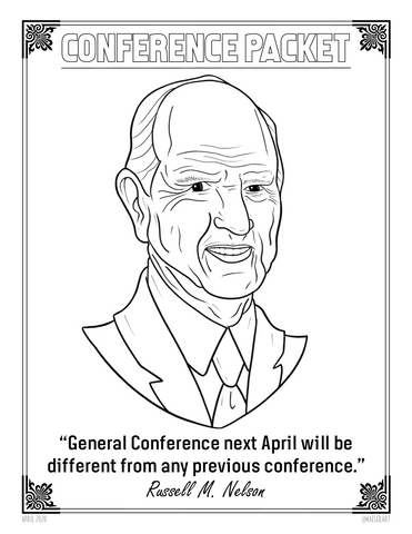 April 2020 General Conference Activity Packet