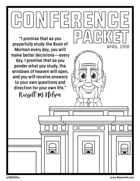 2018 April General Conference Activity Packet