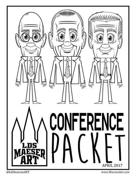 2017 April General Conference Activity Pack for Kids