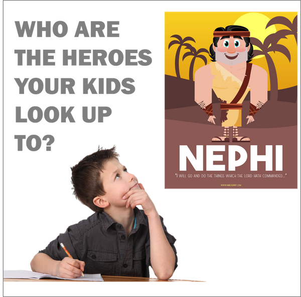 Real Heroes: Nephi from the Book of Mormon - Poster (Free Shipping)