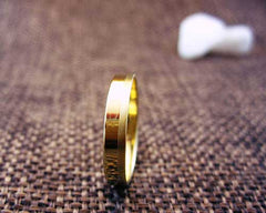 AverieJewelry | 14k solid gold matte/polished wedding ring