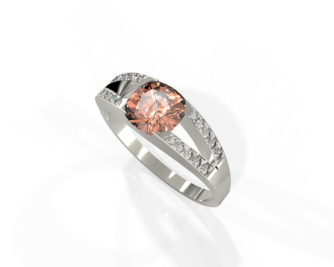Averie | Art & Jewelry. Morganite statement ring