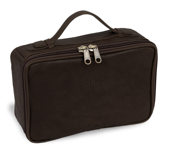 JH Dopp Kit, Leather