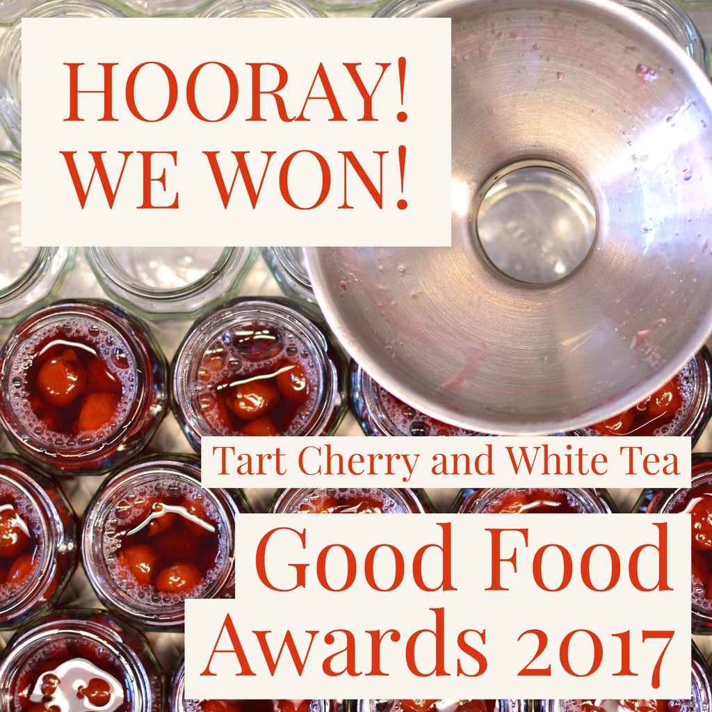 We are a Good Food Award winner!