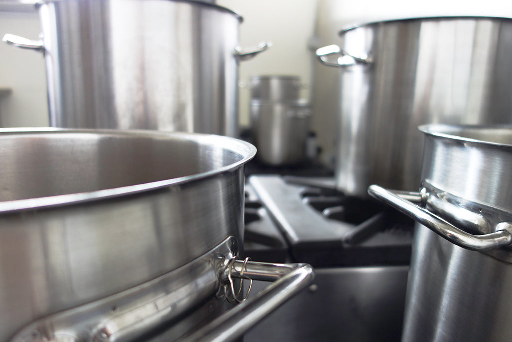 We use the same pots as the day we started. All of our products are made in small batches to ensure the highest quality.