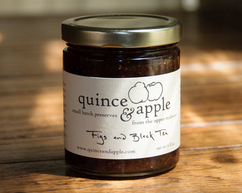 Figs and Black Tea preserves