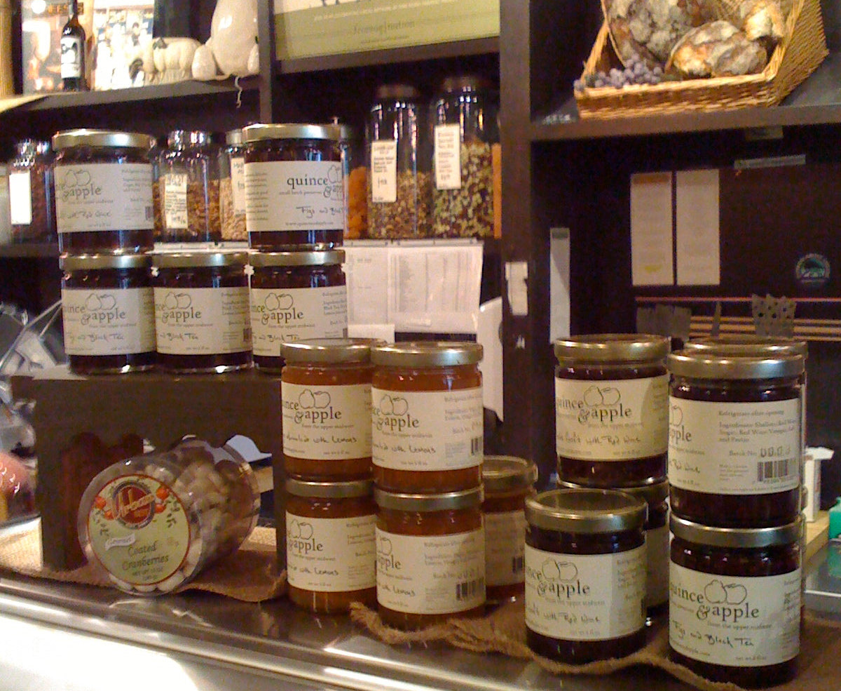 Q&A preserves stocked at Fromagination