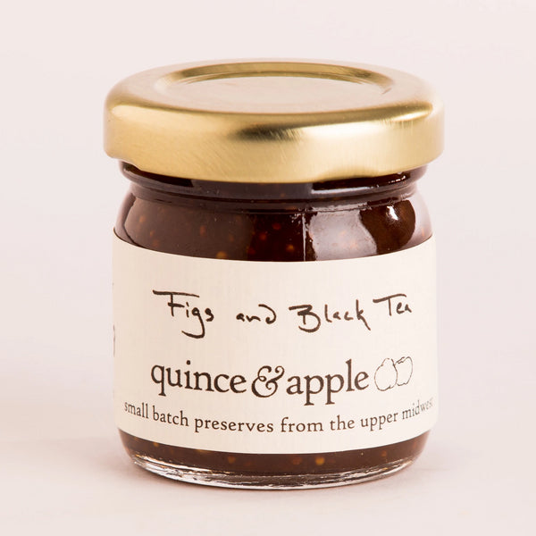 Tiny Figs and Black Tea Preserves