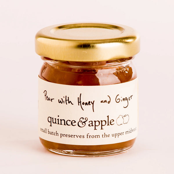 Tiny Pear with Honey and Ginger