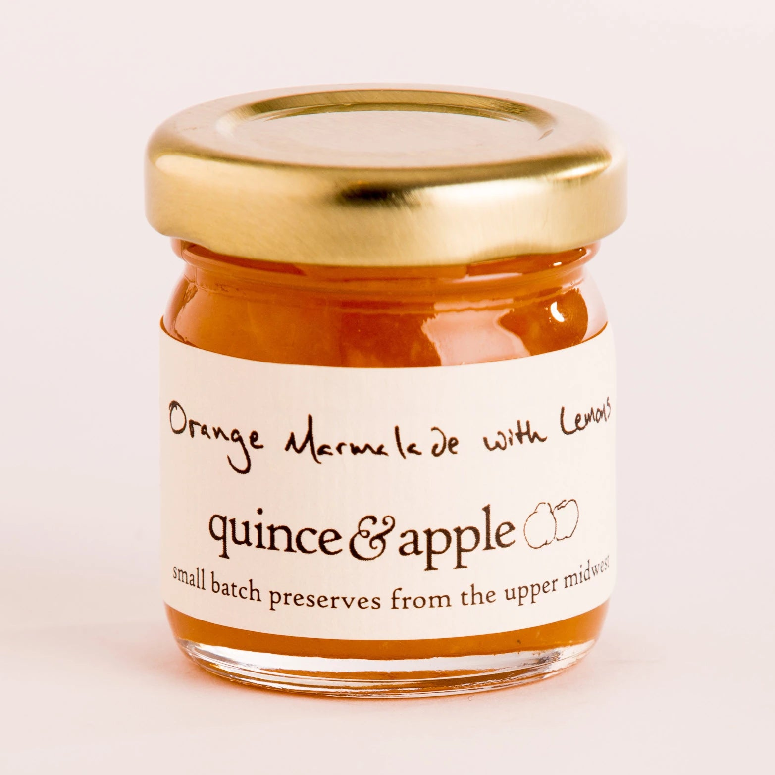 Tiny Orange Marmalade with Lemons