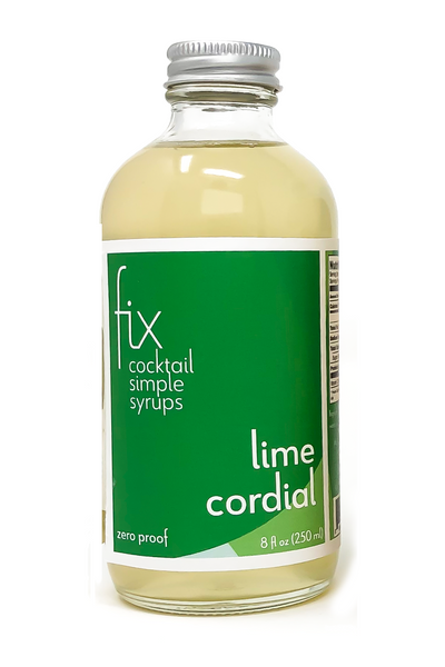 Lime Cordial simple syrup from Fix