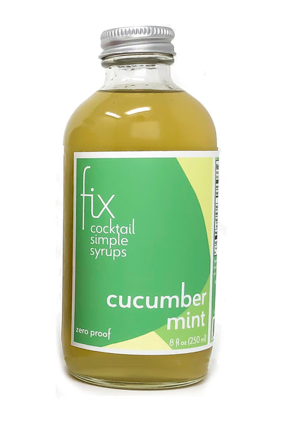 Cucumber Mint simple syrup from Fix