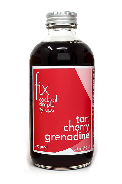Tart Cherry Grenadine simple syrup from Fix for craft cocktails at home