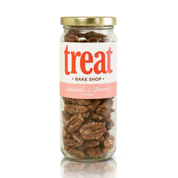 Treat Hand Made 7 oz Jar Candied Pecans