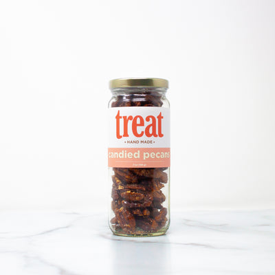 7 oz Deluxe Jar of Candied Pecans from Treat