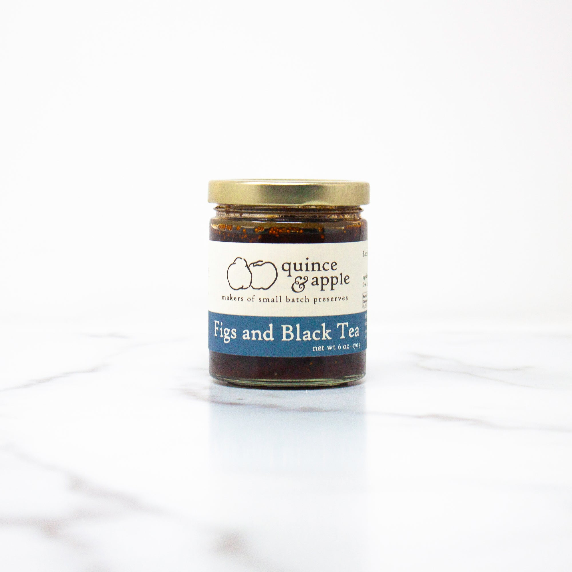 Figs and Black Tea - fig jam for the sophisticated palette