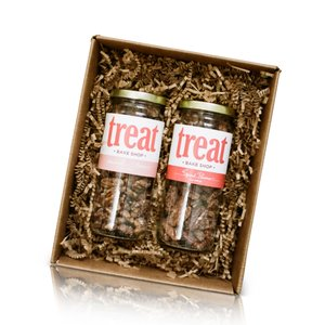 Spiced and Candied Pecan Gift Set