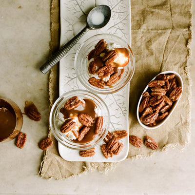 Deluxe Jar of Candied Pecans
