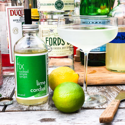 Lime Cordial Simple Syrup