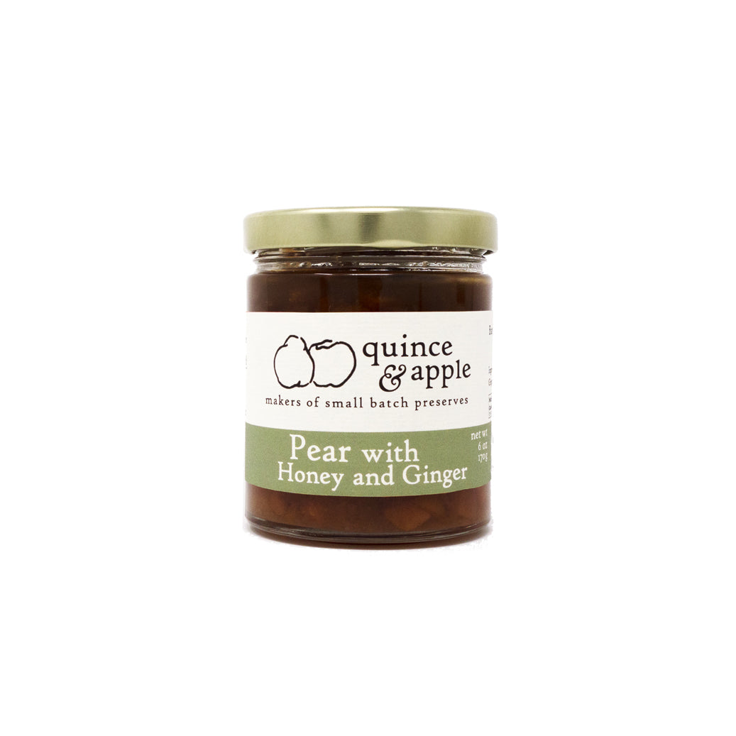 Pear with Honey and Ginger - pear jam all grown up