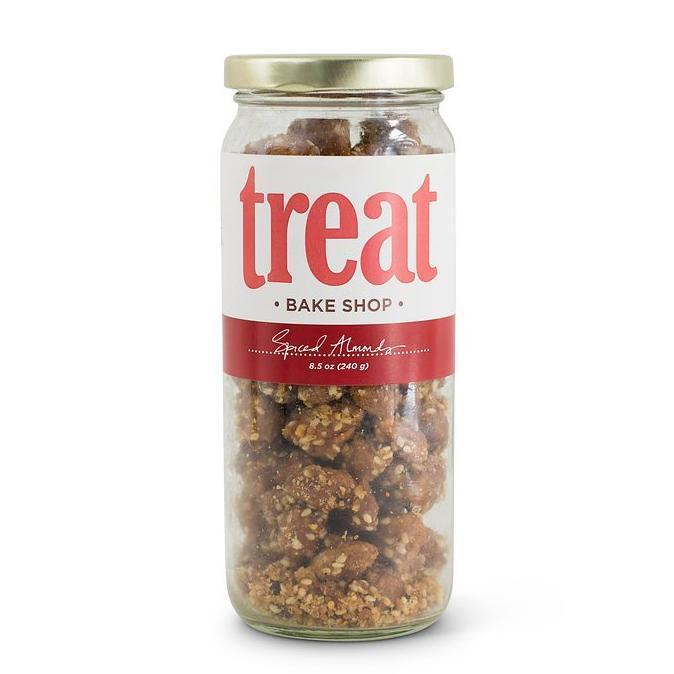 Deluxe Jar of Spiced Almonds from Treat