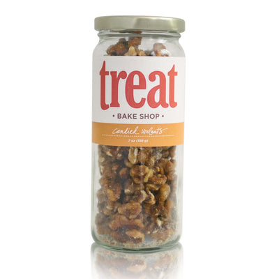 Deluxe Jar of Candied Pecans from Treat