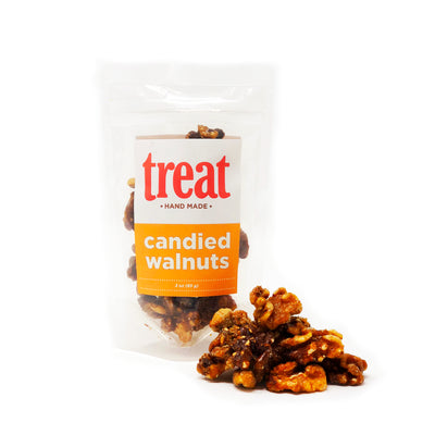 Candied Walnuts - small batch, artisan roasted nuts from Treat