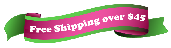 Free shipping over $45 dollars