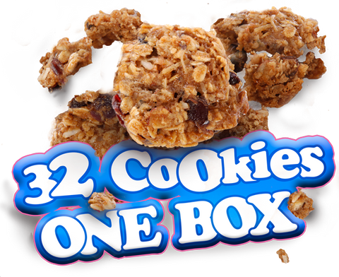 oatmeal cookies 4pack