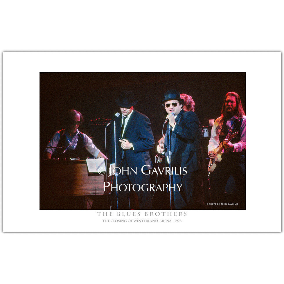 Blues Brothers - Classic Rock Photographs