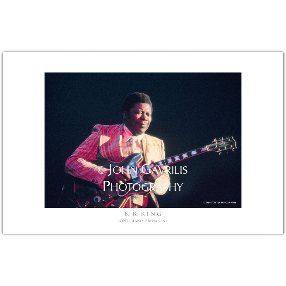 B.B.King - Classic Rock Photographs
