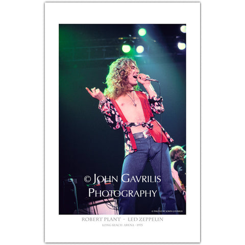 Robert Plant - Classic Rock Photographs