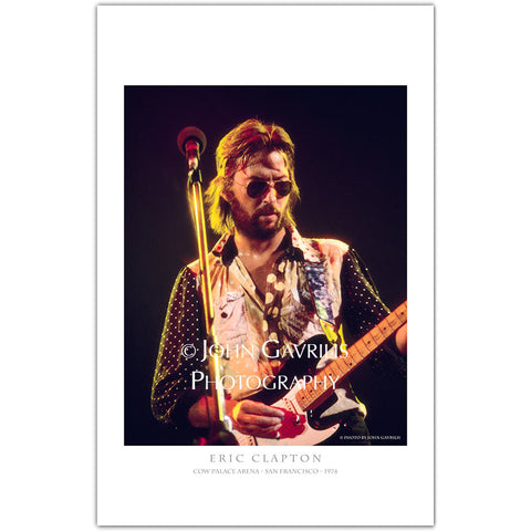 Eric Clapton - Classic Rock Photographs