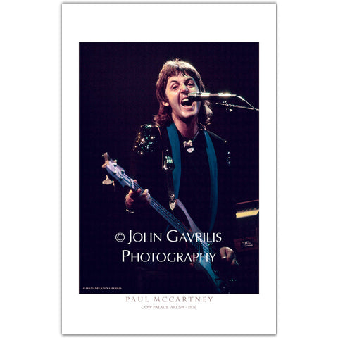 Paul McCartney - Classic Rock Photographs