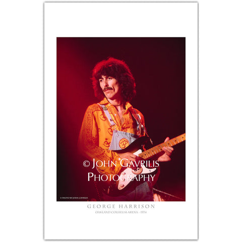 George Harrison - Classic Rock Photographs