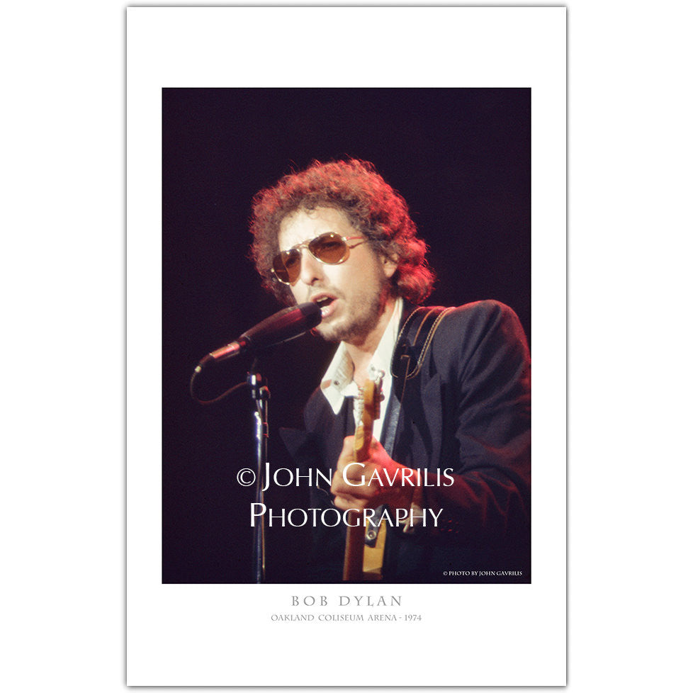 Bob Dylan - Classic Rock Photographs
