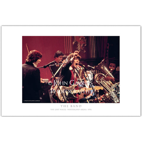 Robbie Robertson - The Last Waltz - Classic Rock Photographs