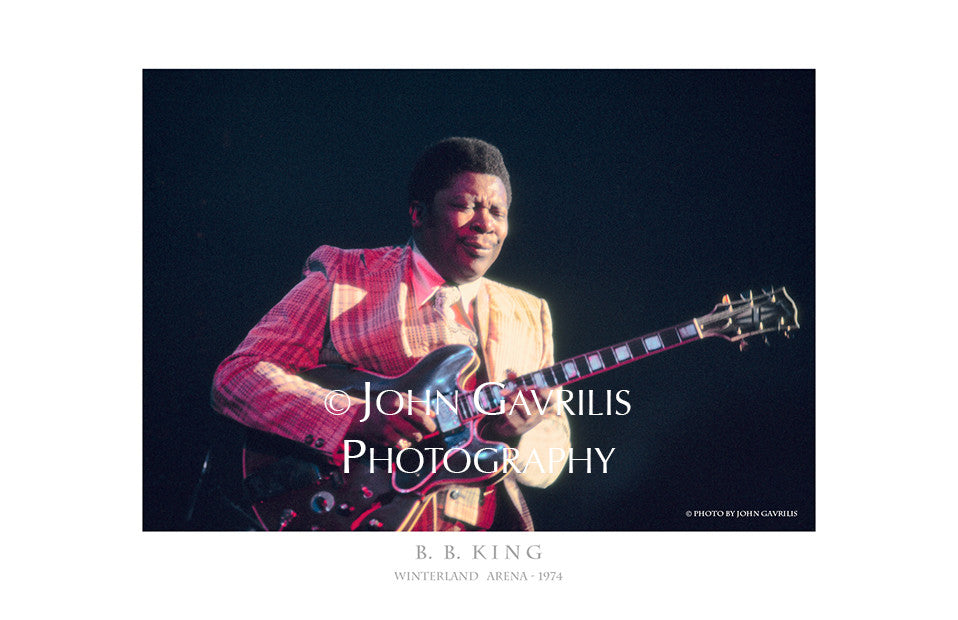 B.B. King - Winterland Arena - 1974