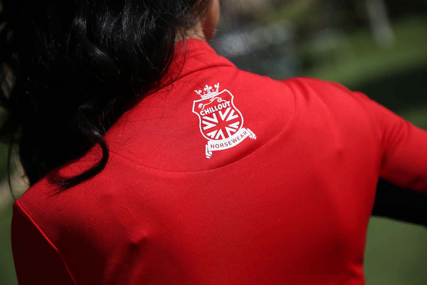 Unisex Red UV base Layer