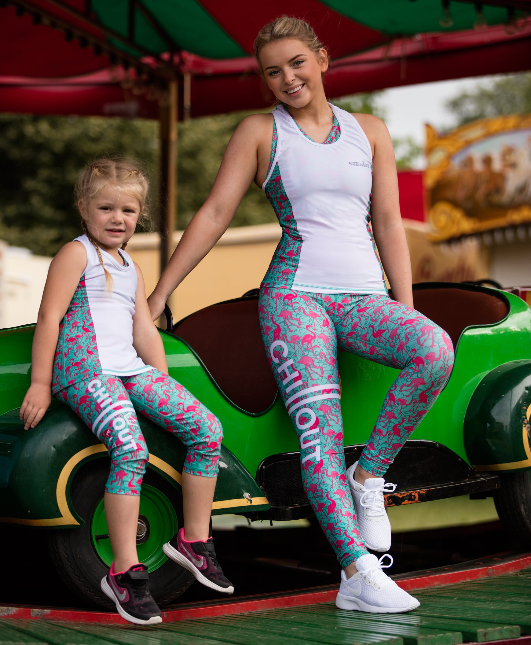 Children's Flamingo leggings